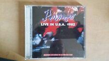 "PRINCE ""LIVE IN USA 1982"" RARE CD 1990"