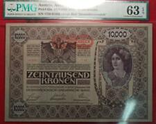 1918 (ND 1919) Austria, Austro-Hungarian Bank 10,000 Kronen Note