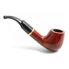 Mr. Brog Model No. 67 Full Bent Pecan, Handmade Briar Wood Tobacco Pipe