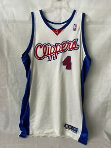 Anthony Goldwire Game Used Los Angeles Clippers Reebok Jersey