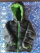 Patagonia baby down puffer coat 12-18 months, dark green