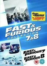 Fast & Furious Collection 7 and 8 DVD Dwayne Johnson Jason Statham