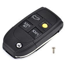 4 Tasten Klappschlüssel Gehäuse für Volvo C70 S60 Fernbedienung Auto Schlüssel