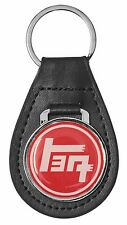 TOYOTA TEQ LEATHER KEY CHAIN RING FOB - CELICA COROLLA SUPRA AE86 STARLET TRD