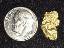 Gorgeous 2.1 Gram Natural Gold Nugget Bullion Atlin, British Columbia