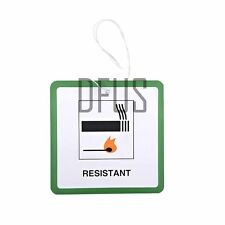 100x Muebles / Tapicería Dl7 Colgante Etiquetas * Entradas. Fuego Etiquetas De Seguridad