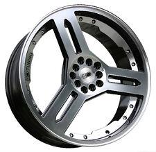19x7.5 HD Wheels Rims SINGOW 4x100/4x108 Gloss Black Mach Tuner Sport JDM FORD