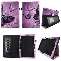 Multish Butterfly for Insignia Flex 10.1 Inch Tablet Case Fit Cover ID Slots