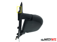 NSF LH BLACK POWER FOLDING & HEATED WING MIRROR for MITSUBISHI DELICA L400 #1