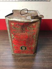 Vintage (Empty) 5 Gal Rawleigh'S Stock Dip Can Display Collectible Original 818