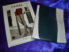 GERBE Hypnose Fantasie Feinstrumpfhose Gr. 3 petrole Collant Tights OVP