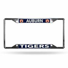 Auburn University Tigers Lightweight Chrome Metal License Plate Frame