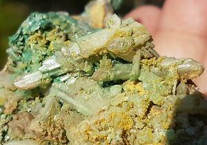 Malachite, Cerussite & Pyromorphite Specimen from Rum Jungle N.T. Australia m3