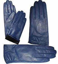 Leather gloves. Woman's Size (S) Leather winter Gloves. Dress Gloves. New Gloves