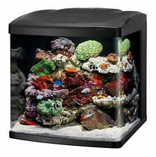Nano Cube Fish Tank LED Cube Aquarium Tank Starter Kit Reef Fishtank Size 32