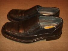 Dockers ProStyle Black Leather Loafer Comfort Dress Shoes Mens Size 8M