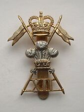British Army, XII Royal Lancers Cap Badge. 12th Royal Lancers.