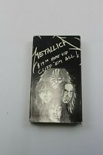 Metallica $19.98 Home Vid Cliff 'Em All VHS Tape Works