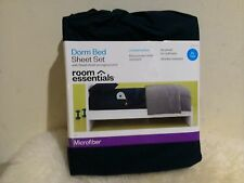 Blue Room Essentials Dorm Bed Microfiber 3pc Sheet Set Twin XL w/Storage Pocket