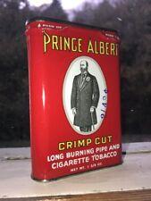 Vintage Tins - Prince Albert Crimp Cut Tobacco Okay Condition