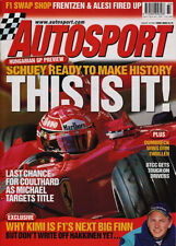 Autosport 16Aug 2001 - Lausitzring DTM, Magnussen, Hakkinen, Raikkonen, Toyota