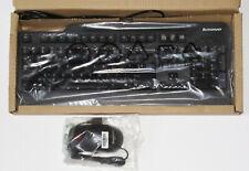 Original Lenovo OEM USB Keyboard & Mouse Bundle SK-8825/KU-0225/KB1021 Brand NEW