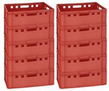 10 Stück Metzgerkiste Aufbewahrungsbox für Fleisch und Wurstwaren E2 Gastlando