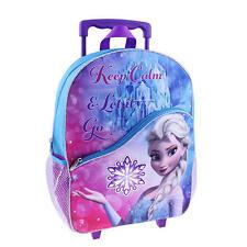 "Disney Frozen Large Rolling Backpack 16"" Elsa ""Keep Calm and Let it Go"""