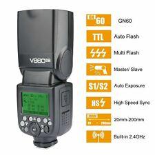 Godox V860II-N 2.4G TTL Li-ion Battery Wireless Camera Flash Speedlite for Nikon