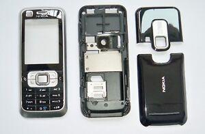 Silver Housing cover Case fascias facia faceplate For Nokia 6120 silver
