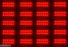 20x Rojo 12 SMD LED Parte Trasera Luces de marcaje Caravana Remolque Camión
