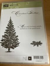 Retired Christmas - Special Season Stampin Up Rubber Stamps - 131769