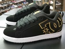 DC COURT GRAFFIK SE 300927 BLACK/GOLD (204) MEN US SZ 10