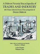 A DIDEROT PICTORIAL ENCYCLOPEDIA OF TRADES AND INDUSTRY VOL 1 - Hardcover *NEW*
