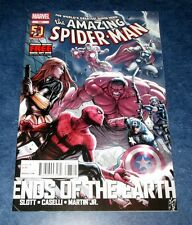 AMAZING SPIDER-MAN 687 1st print ENDS OF THE EARTH red hulk AVENGERS IRON MAN NM