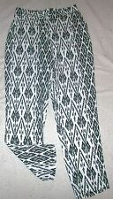 GEORGE LADIES PATTERNED TROUSERS SIZE 10