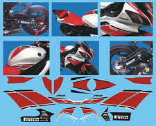 Kit forcellone Yamaha R6 2006 2013 - adesivi/adhesives/stickers/decal