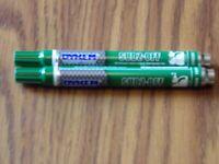 12 DYKEM Sudz Off 44 Paint Markers Green  44371 NEW