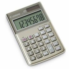 Canon LS-8TCG 8 Digit Compact Calculator Tax Currency Conversion Grey G3KI