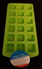 NEW 18 Cube Silicone Mold Freeze Bake Microwave Dishwasher Safe 5 avail