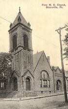 First M E Church in Blairsville PA OLD