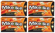 4x Mike & Ike Caramel Apple Flavor 141g Theater Box Candy American Sweets