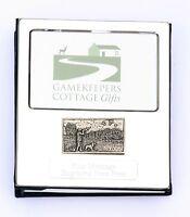Cricketer enamel  Design Silver Personalised Photo Album FREE ENGRAVING pewter emblem holds 100 6x4 photos 88