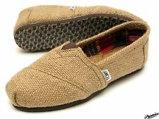Natural Burlap Authentic Womens Toms One For One Brand New