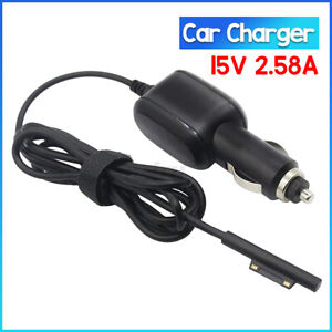 Car Power Adapter Cable Charger for Surface Connect Pro 5 6 7 Laptop 2 3 GO