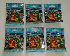 LEGO 8805 Minifigure Series 5 Lot of 6 New Sealed Blind Packs Random Assortment