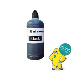 1 Black 100ml Universal Printer Refill Ink Bottles for CISS or Refillable
