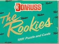 Donruss la Rookies 1991 Rompecabezas y tarjetas Box Set-Juego Completo De 56 Trading Cards