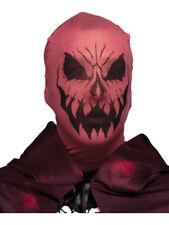 Scary Evil Devil Demon Stocking Fabric Mask Costume Accessory