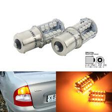 PY21W BAU15s 7507 40 SMD LED Car Bulb Turn Signal Reverse Tail Brake Light Amber
